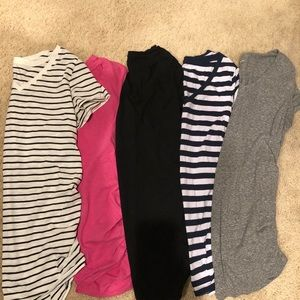 Tops - Assorted Maternity V-Neck Shirts